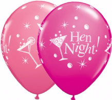 Hen Night Bubbly (Asst) - 11 Inch Balloons 25pcs